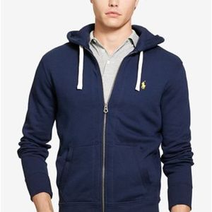 Polo Zip Up Hoodie - Men's Small